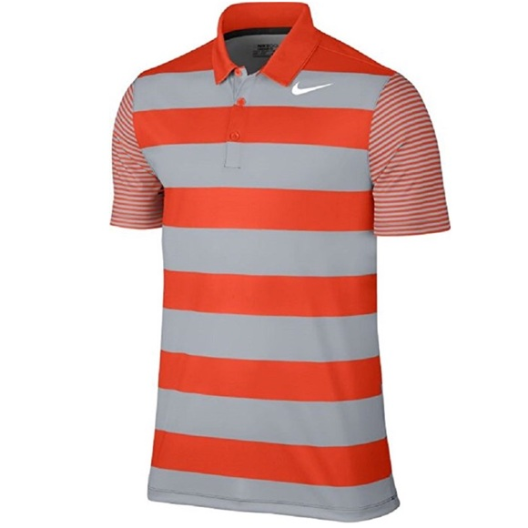de8ebf0b27c586 Men s NiKE Striped Golf Polo Shirt Top